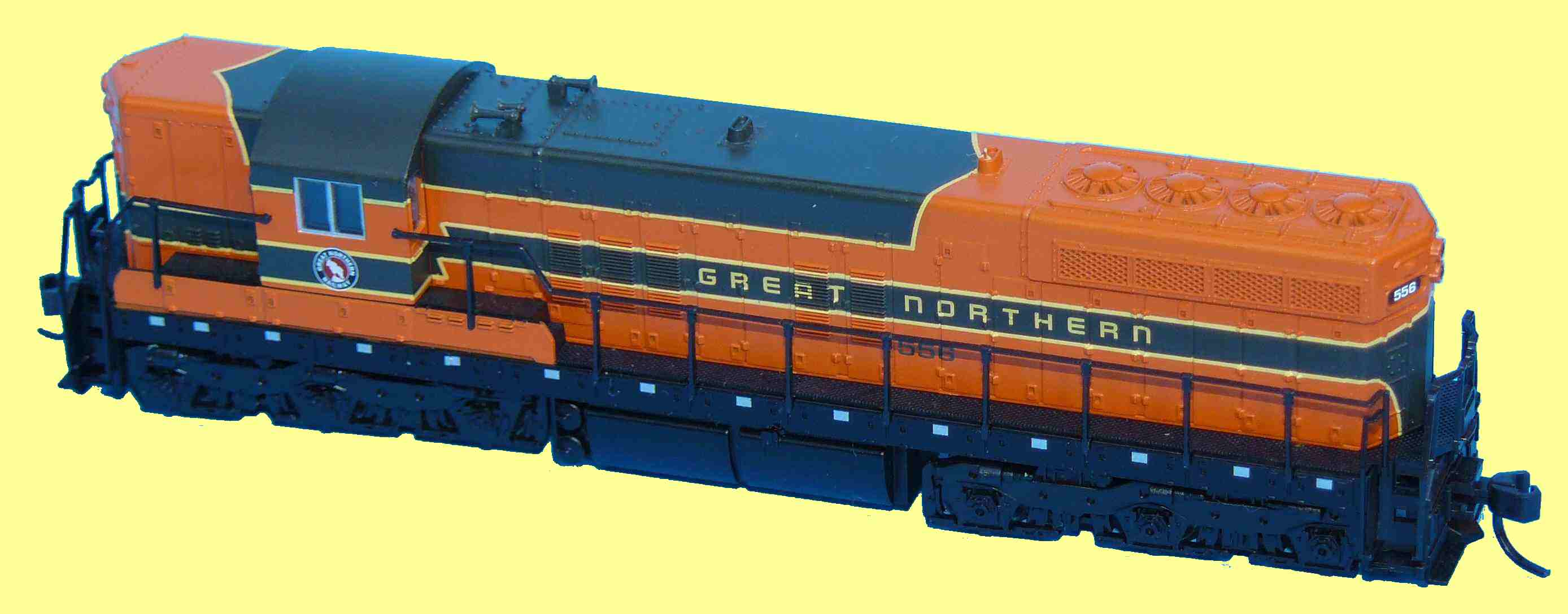 Atlas SD7 - Great Northern livery